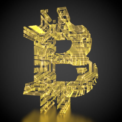 bitcoin symbol made out of circuits 3D 3d Rendering Currency Electronic Gold Golden Tech Virtual Bitcoin Bitcoin Symbol Black Background Cash Circuit Circuit Board Circuits Crypto Currency Cryptocurrency Digital Electricity  Illuminated Money Rendering Symbol Technological Technology