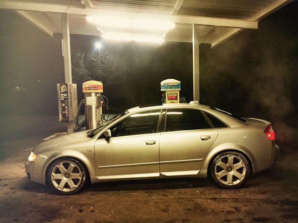 Taking Photos Quattro Car Audi S4 S4 Audi Nightphotography Monochrome