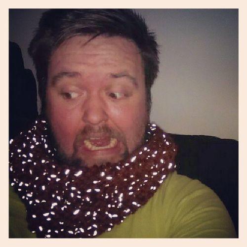 Lauter Gl ühwürmchen auf meinem Schal... Schachenmayr Knitting Ichleuchteimdunkeln cowl