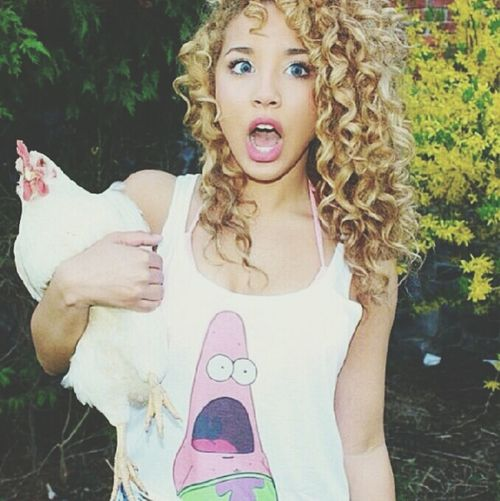 :O Me With Chicken