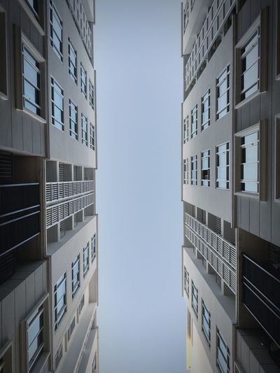 Architecture Architectural Detail Detail Condominium Office Photograph Sky Symmetry Tall - High