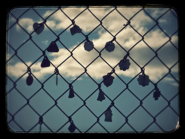 Chainlink Fence Photography Sky Day
