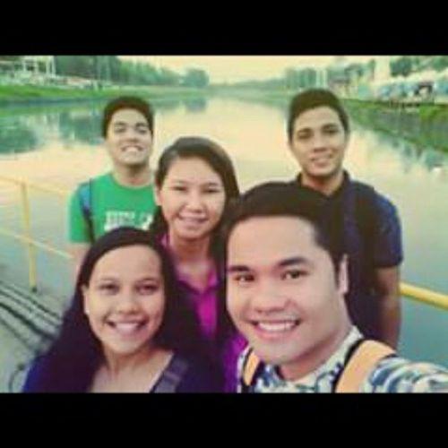 Way back sometime with Zcy, Mickoy, Alyssa, Bil at Marikina Bridge Cancelledclass Galamode Khinoadventure Kc360