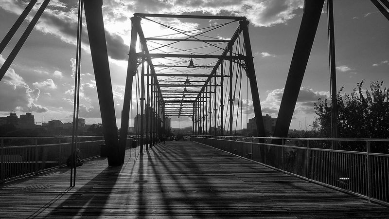 Tuesday dwellings Bridge Sunset Architecture View City Life Blackandwhite San Antonio Taking Photos EyeEm Best Edits