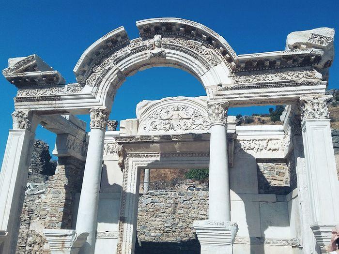 Efesantikşehir Efesantikkent Architecture Built Structure History Travel Destinations Outdoors Sky Day No People Summer Travel Nature