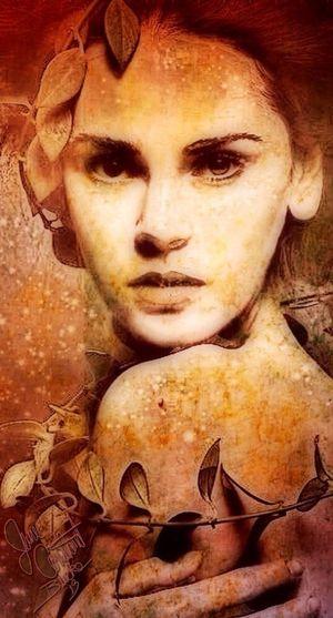 Digital Art Color Portrait Painterly Portraits Abstract Color Portrait