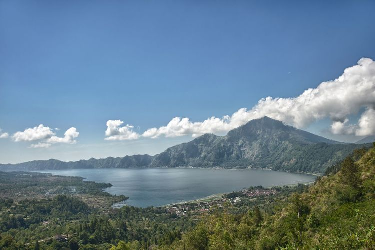 Gunung Batur Bali Nature Mountain Beauty In Nature Scenics Water Day No People Landscape