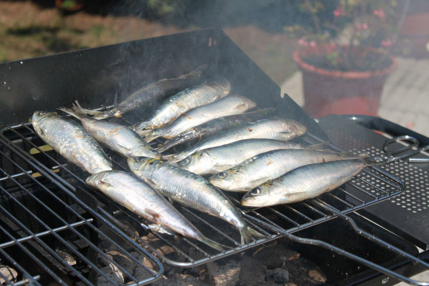 Sardines Grillees Sardinas Sardinesoncarbon Barbecue BBQ BBQ Time Bbq Fish