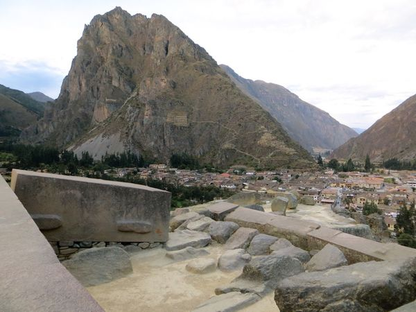 Mountain Mountain Range Day Rock - Object Sky Outdoors Nature Landscape Travel Destinations No People Scenics Beauty In Nature Architecture Inca Ruins Ancient Civilization Peru Ollantaytambo - Peru Ollantaytambo