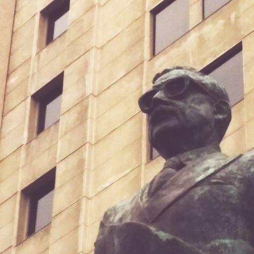Allende Statue Sculpture Architecture It's About The Journey