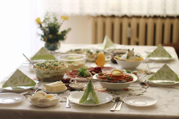 Standard Polish Easter Breakfast or Śniadanie Wielkanocne Wielkanoc śniadanie Easter Sunday Food And Drink Plate Food Celebration Healthy Eating Homemade Jajko Eggs Egg Sniad