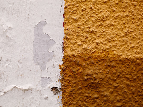 Abstract Background Beige Brown Cappuccino Color City Cuttings Dirty Geometry Grunge Parts Ribbing Surface Textured  Wall White Yellow