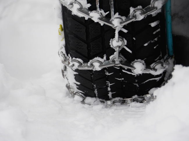 tyre with snowchain Chair Snowchains Close-up Cold Temperature Day Frozen Indoors  Nature No People Snow Snow Chains Snowflake Tire Tyre Tyre With Snowchain Winter