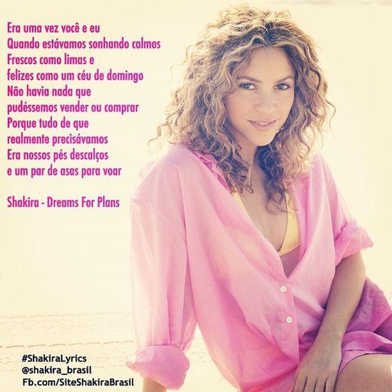 ShakiraLyrics - Dreams For Plans