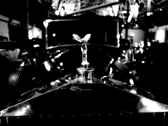 Indoors  Close-up No People Day Rolls Royce Spirit Of Ecstasy