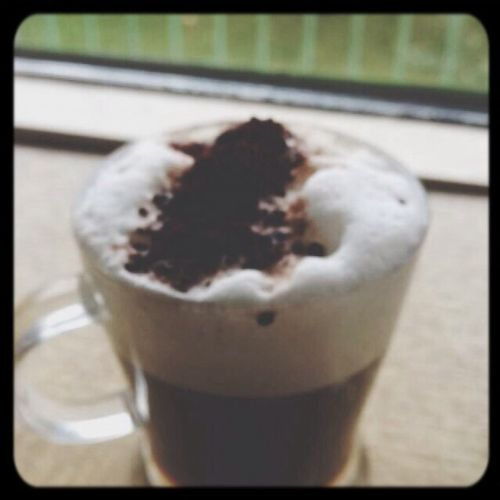 But first.. Coffee. Esspresso Cappucino Trees Senseo