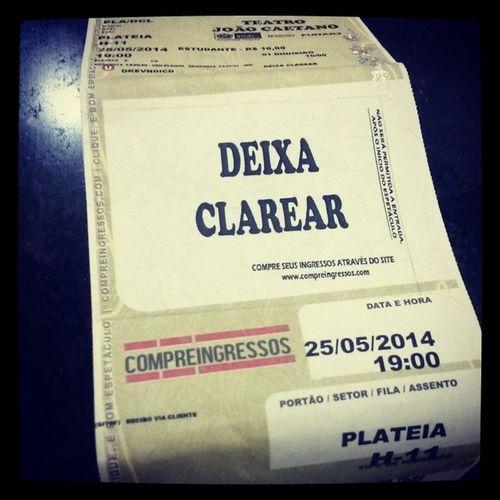 Hoje tem supresa do meu amor: musical sobre a diva Clara Nunes!! ♡♥ Musical Deixaclarear Amodemais Amormeu riodejaneiro errejota boamúsica músicabrasileira