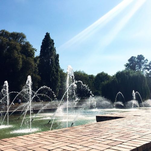 Fountain at the