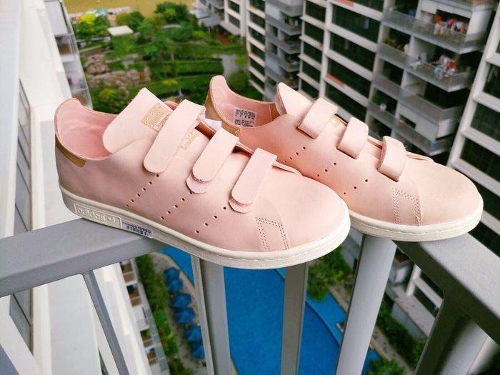 👟👟 Kicks Sneakers Adidas Adidasoriginals Adidas Originals Stansmith AdidasStanSmith Pink Vapourpink Love Joy Happy