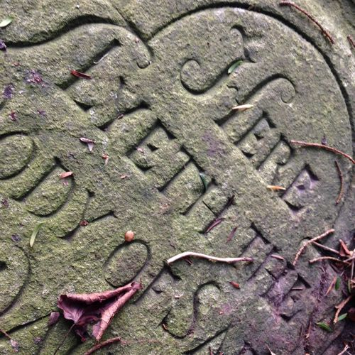 Churchyard Death Deterioration Grave Gravestone Here Lyeth Letters Outdoors Stone Stone Carving Stones Text Weathered