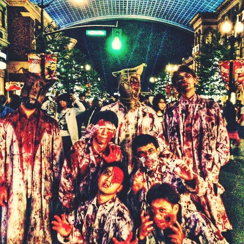 USJ In Osaka Horror Photo Trick Or Treat Zombie Make-up