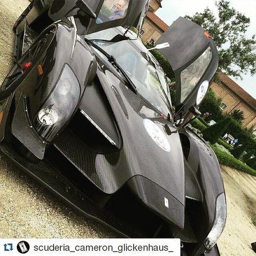 Repost @scuderia_cameron_glickenhaus_ ・・・ SCG Scg003 with @repostapp. ・・・ Finally I could see one of these demons closely. Very impressive🙌👏 Por fin pude ver una de estos demonios de cerca. Muy impresionante🙌👏 Race racecar italy