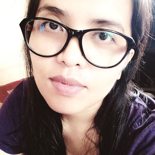 New Eyeglasses  SELF PORTRAIT WITH EYEGLASSES