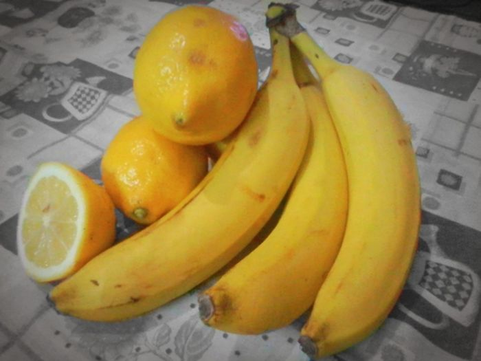 Color Palette Black & White Colour Of Life Color Yellow Amarillo Bananas Platano Limon Leemon