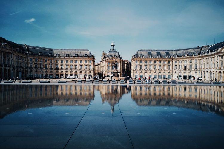 Bordeaux reflection