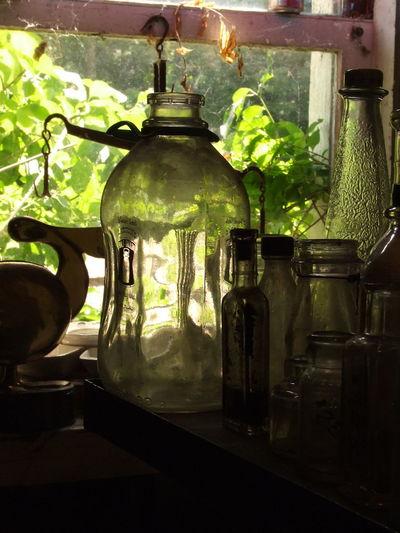 Antique, Milk Bottle, Old