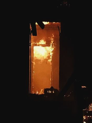 The gates of Hell. Or at least sometimes it feels that way. Heat - Temperature Burning Flame Molten Sacrafice  Teamwork Be Ready The Calling Fire - Natural Phenomenon Service No Days Off Firefighter Pride ResponsibilityHot As Hell Commitment Honor Always Ready