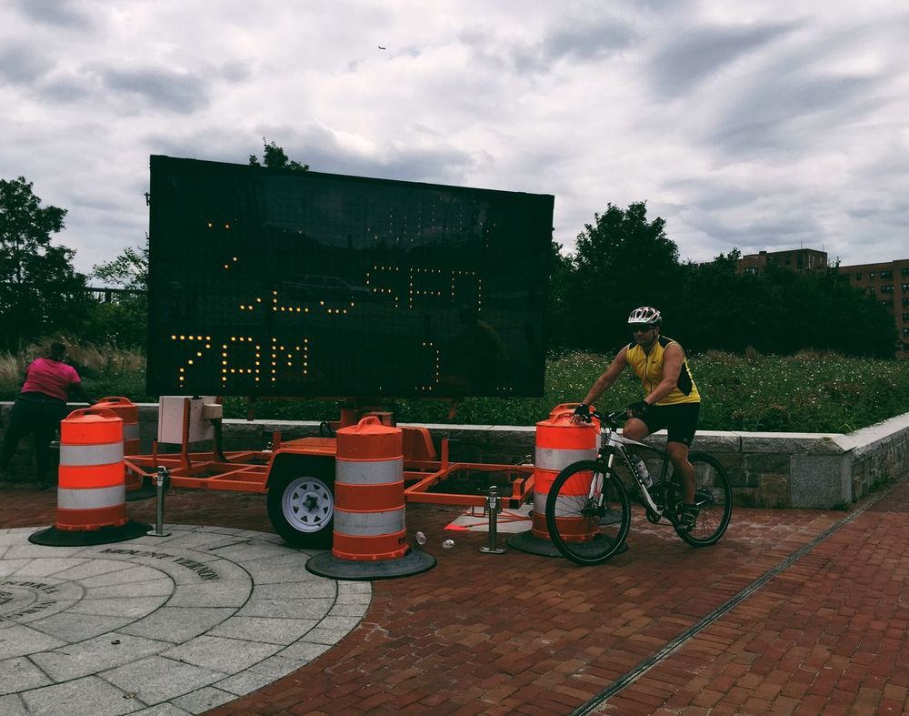 Share Your Adventure Cycling Cycling Around Enjoying The Outdoors My Hometown Alexandria, VA Urban Exploration Sports Road Signs On Your Bike