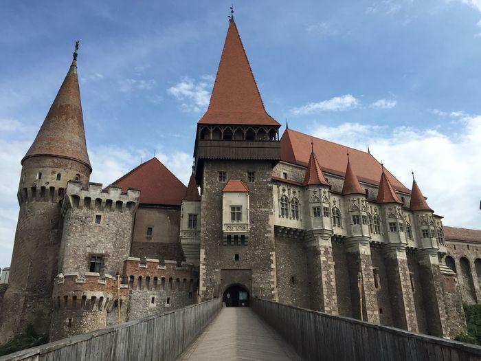 Corvin Castle Hunedoara Romania No Filter