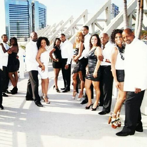 black and white photo shoot for a la club event.. Fly Youngrichandflashy