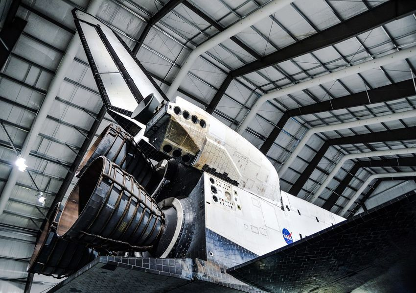 Space Shuttle Check This Out Hello World California