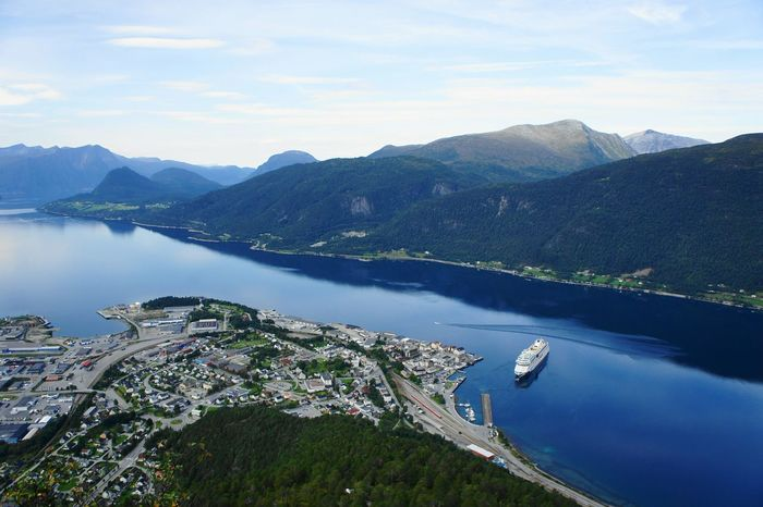 View of Åndalsnes in Western Norway. Andalsnes Norway Norway Nature Western Norway Newstrekker Stockphoto Cityscapes Travel Photography City View  Gettylicious Travel Aalesund Eyeem Norway EyeEm Nature Lover Fjord Fjordsofnorway Fjords Tourism City Mountain Beautiful Cruise Ship Cruise Hiking Nature