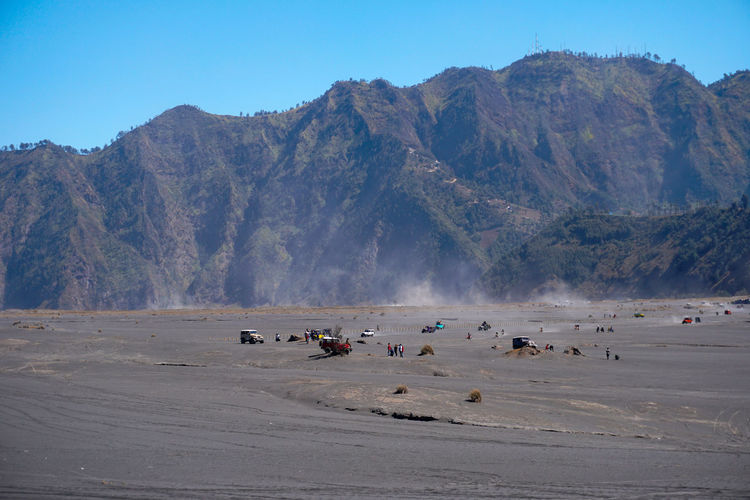 The beauty of mount bromo