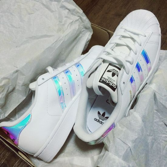 Superstar Hologram Addidas Shoes