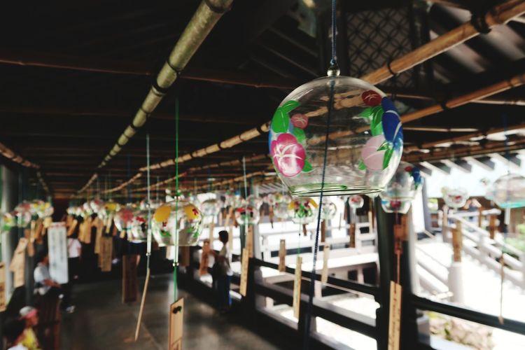 風鈴の音はずっと聞いていられる Summer Shrine 風鈴 City Hanging Amusement Park Retail