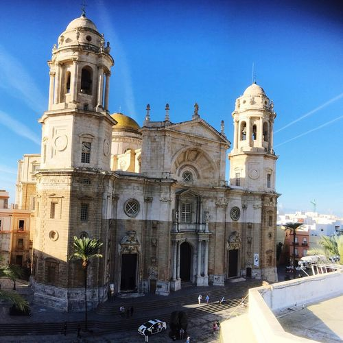 From rooftop opposite First Eyeem Photo Catedral De Cadiz Architecture Catedral SPAIN