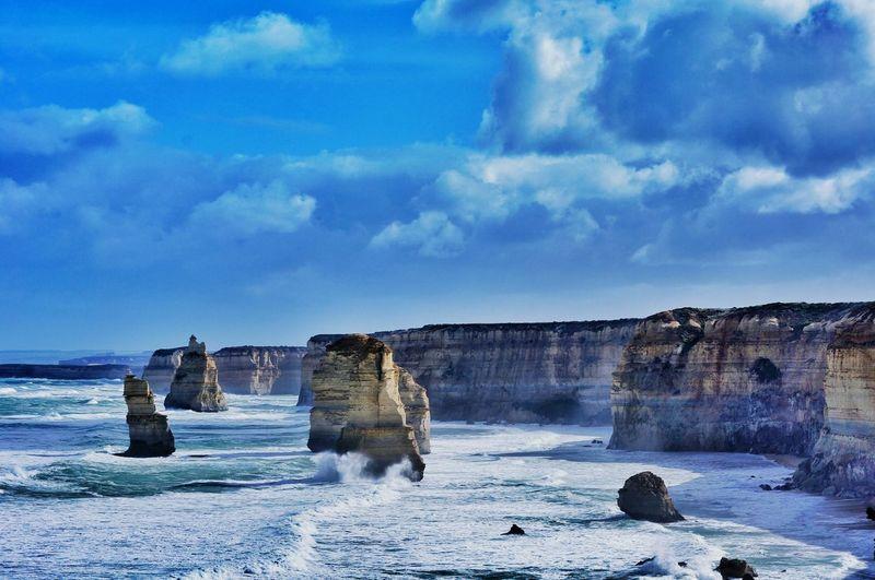 Twelveapostles Greatoceanroad Landscape
