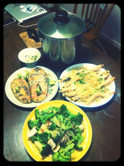 My Yummy Sea Food Dinner