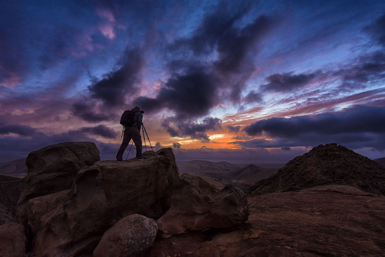 Canary Islands Fuerteventura Nikon Cloud - Sky Frozenintime Photographer Rocks Sunset