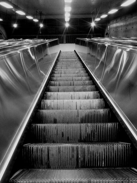 Rosemont STM Beaubien Montréal Blackandwhite Photography Stairs MTL Subway Built Structure Architecture Blackandwhitephoto Stairs To... Urban Photography Urbanexplorer Black Color Shadows Lights The City Light Black And White Friday