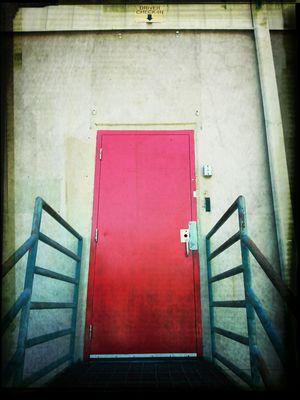 Doors Taking Photos Vacancy