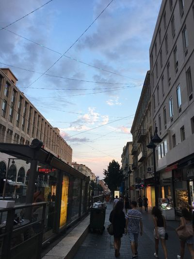 Evening in Nice
