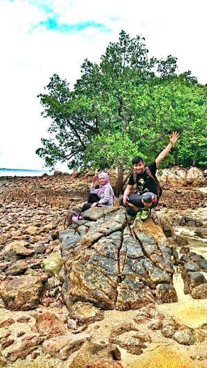 Hello World TanjungTuan Portdickson Malaysia Beach Outdoorphotography Outdooradventure Enjoying Life
