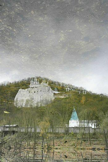 Water Mirror Churches river mirror