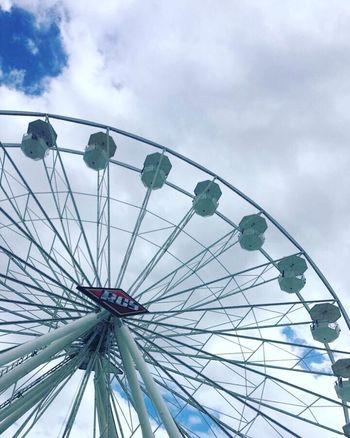 Rodeohouston Low Angle View Arts Culture And Entertainment Sky Amusement Park Ferris Wheel Leisure Activity No People Amusement Park Ride Day Cloud - Sky Outdoors Ride Big Wheel Adventure Spoke