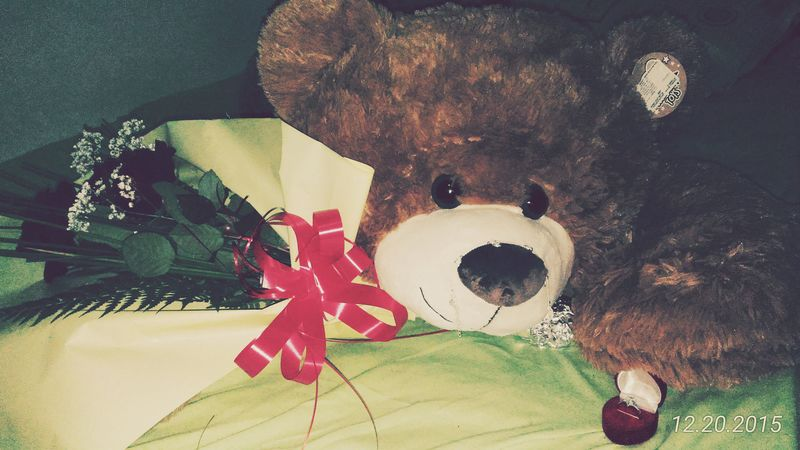 Gifts ❤ Thankyou Santaclaus Hello World Gift Nice Gifts Teddybear Rose🌹 Roses🌹 Feeling Special